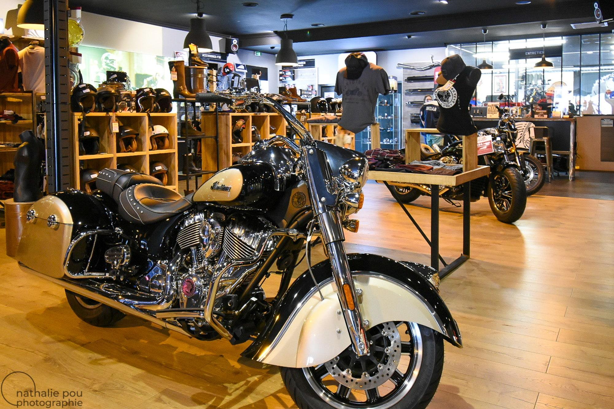 Photographe entreprise: Concession Indian Motorcycle - La Garde - Toulon