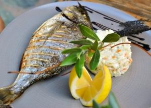 Photographe culinaire : Daurade- Restaurant U Fornu-Calvi-Corse