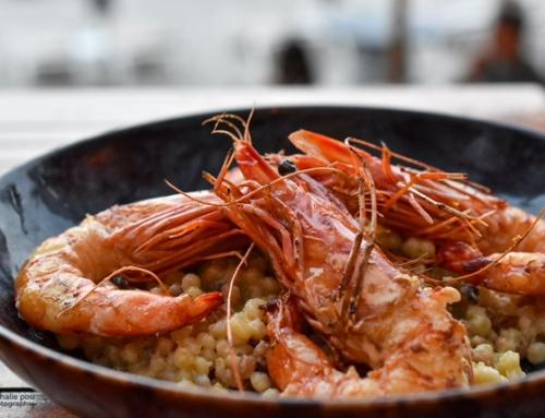 Restaurant Le Pain de Sucre – Lumio – Corse – Gambas grillées